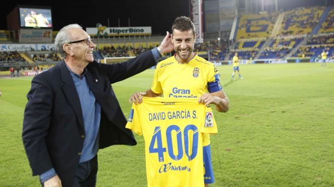 David García renueva por una temporada con la UD Las Palmas